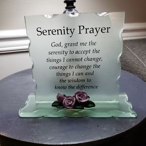 New serenity prayer plank
